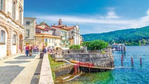 Lago Maggiore, Oberitalienische Seen, Landschaft und Natur, Italien